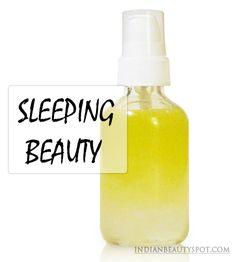 DIY Beauty Sleep Pillow & Body Mist