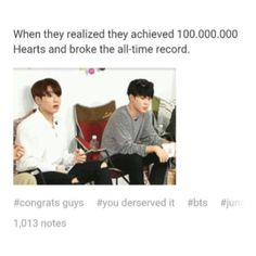 Well they deserve it #bts #bangtan #army