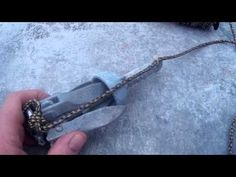 How to Properly Tie a Kayak Anchor Using a Anchor Knot and a Zip Tie