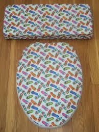 flip flop bathroom toilet seat and lid cover