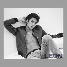 Sehun EXO for the Magazine Leon