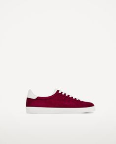 a535a67ef135cc Image 2 of SPLIT SUEDE PLIMSOLLS from Zara Clothes 2018
