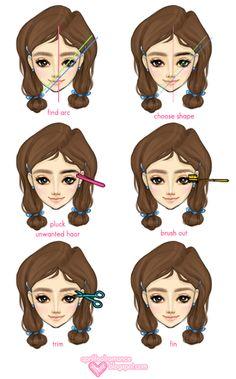 Korean Eyebrow Tutorial