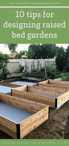 Raised-bed gardens are a popular option for starting a garden. Correct raised-bed garden design helps maximize the productivity of the available space. A well-designed raised-bed garden also adds beauty to your yard. plans Raised Bed Garden Design Tips