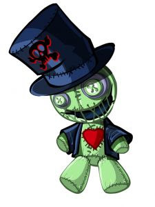 voodoo doll Samedi smily