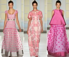 Rosa domina as passarelas!  #moda #vogue
