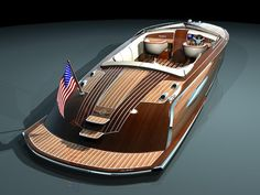 Reminds me of the type of boat the hardy boys used to have.