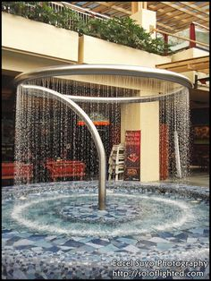 Special Water Fountain Design Ideas In Your Perfect Garden - Rose Gardening Tabletop Fountain, Indoor Fountain, Garden Water Fountains, Water Garden, Garden Pond, Fountain Garden, Water Fountain Design, Fountain Ideas, Water Sculpture