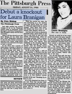 Laura 1984, Debut a knockout