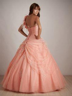 Même robe de mariée, mais de dos :-)