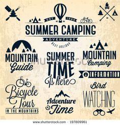 Camping logo8
