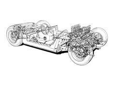 ca 1971 Lamborghini Miura - Illustrator unknown