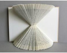 Plegado libro Arte 3D libro escultura libro Origami libro página arte / plegado libro escultura / / plegado libro arte libro escultura 3D libro arte