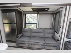 Keystone Raptor toy hauler 423 highlights: Outdoor Kitchen Separate Garage Loft Exterior TV Master Suite With this Raptor toy hauler, you will. Raptor Toys, Fifth Wheel Toy Haulers, Ocala Florida, Electric Awning, Keystone Rv, Open Layout, Queen Beds, Entry Doors, Furniture