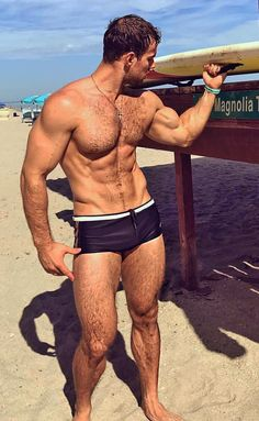 Muscled, furry perfection.