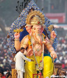 インドの神様 ガネーシャ祭り(Ganesh Chaturthi Festival, India)