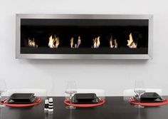 Wall Biofuel Fireplaces