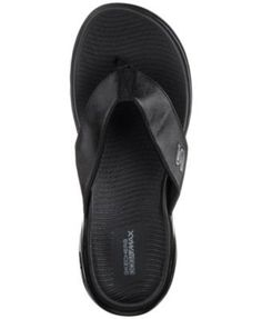 Skechers Men's On The Go 600 - Seaport Athletic Flip-Flop Thong Sandals from Finish Line - Black 11
