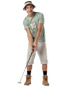 34 best golfers halloween images on pinterest costumes halloween rasta imposta caddyshack carl spackler costume multi colored one size includes shirt pants and hat does not include socks boots or golf club solutioingenieria Image collections
