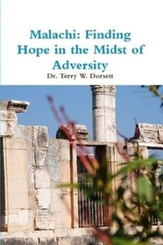 Malachi: Finding Hope in the Midst of Adversity by Terry Dorsett http://www.amazon.com/dp/B00ASDEOGU/ref=cm_sw_r_pi_dp_GDxUvb1G1ASHV