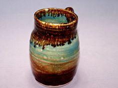 Ceramic Mug Bubblin' Brown Sugar Coffee Mug. via Etsy. Love the glaze.