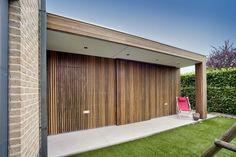 wooden fence #carport #garden