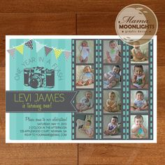One Year In A Flash First Birthday Party by MamaMoonlights on Etsy