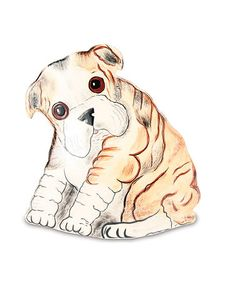 Winston English Bulldog Vase #zulily #zulilyfinds