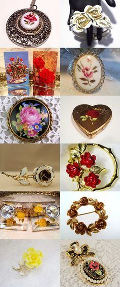 Roses by Linda on Etsy--Pinned with TreasuryPin.com