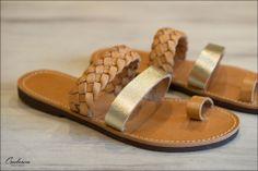 #Isapera. Handmade #Sandals from Greece. #Omberon © Vicky Lafazani