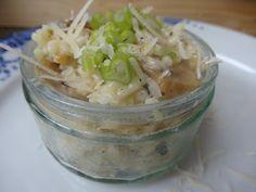 Czary w kuchni- prosto, smacznie, spektakularnie.: Risotto z pieczarkami Risotto, Potato Salad, Cabbage, Rice, Potatoes, Vegetables, Ethnic Recipes, Food, Potato