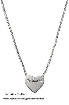 I kind of love this heart necklace a ton!