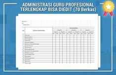 ADMINISTRASI GURU PROFESIONAL TERLENGKAP BISA DIEDIT (70 Berkas)