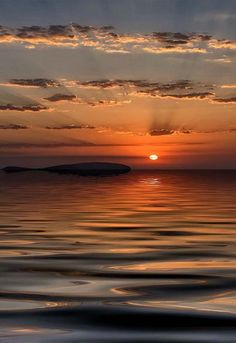 Sunset in Ibiza, Spain