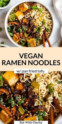 Tofu Recipes, Vegan Dinner Recipes, Dairy Free Recipes, Asian Recipes, Whole Food Recipes, Vegetarian Recipes, Cooking Recipes, Healthy Recipes, Gluten Free