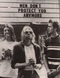 We know Nirvana, the band who brought grunge to the masses. But what do Nirvana and artist Jenny Holzer have in common? Answer: this piece of Holzer's work. Smells Like Teen Spirit, Eddie Vedder, Music Is Life, My Music, Indie Music, Music Icon, Soul Music, Icon Icon, A Saucerful Of Secrets