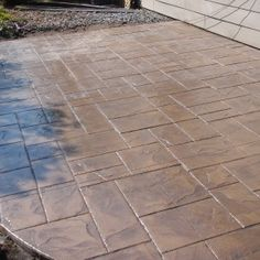 Flooring Ideas With Stamped Concrete Patio Best Stamped