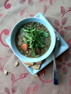 Happy New Year Lentil Soup