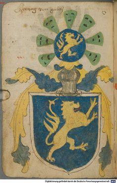Ortenburger Wappenbuch Bayern, 1466 - 1473 Cod.icon. 308 u  Folio 71v