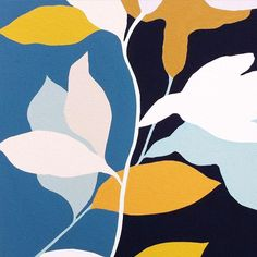 New ideas flowers painting abstract shape Plant Illustration, Pattern Illustration, Abstract Shapes, Abstract Art, Abstract Paintings, Plant Painting, Painting Flowers, Gouache Painting, Motif Floral
