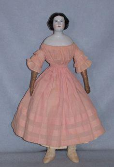 Faraway Antique Shop http://www.rubylane.com/item/359459-856/15x94-Jenny-Lind-China-Conta-Boehme #antique #doll
