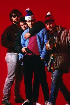 Beastie Boys & producer Rick Rubin, c. 1987 New Hip Hop Beats Uploaded EVERY SINGLE DAY  http://www.kidDyno.com