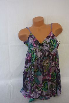 Teddie Betsey Johnson   Butterfly Print NWT NEW SZ S Small #BetseyJohnson