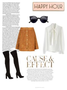 """Cause & Effect"" by nathaliagoomes on Polyvore featuring moda, Chicwish, Gianvito Rossi, Envi e Rosanna"