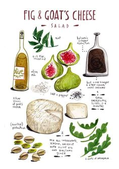 Fig & Goat's Cheese Salad