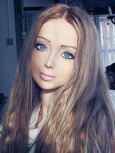 Valeria Lukyanova. The real barbie doll.