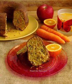 Μιας και Αύγουστο και Σεπτέμβριο έκανα διάλλειμμα από τα αγαπημένα μου κέικ (όχι μόνο στο μπλόγκ, αλλά και στην πραγματικό... Light Cakes, Cocoa Nibs, Greek Recipes, Different Recipes, Carrot Cake, Avocado Toast, Cake Recipes, Carrots, Cooking Recipes