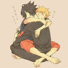 SasuNaru What is Sasuke doing? Naruto Vs Sasuke, Anime Naruto, Naruto Comic, Naruto Cute, Gaara, Sasunaru, Narusasu, Naruto Couples, Anime Couples