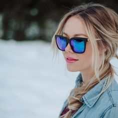 8db326945e Stand out in blue BELLAs❄  jasmine.lorimer  diffeyewear  giveback Giving