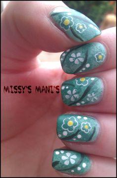 Missy's Mani's: Summer Challenge Day 14 - Gardening